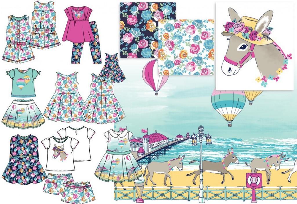 Seaside Donkey Story SS16