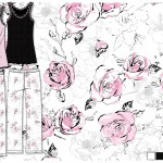 Yumi Sleep Rose Print