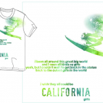 California Girls T-shirt for EMI