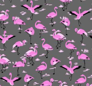Flamingo Print For Yumi
