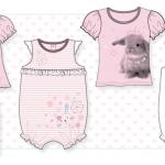 Baby Girls Bunny Range For Peacocks