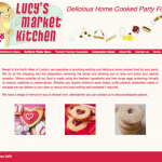 Full Website for Lucy's Market Kitchen
