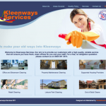 Full Website For Kleenways Services