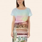 Palm Springs Print For Uttam Boutique